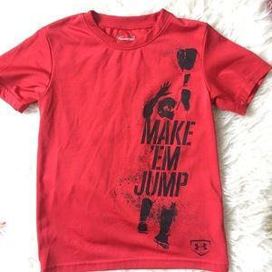 Under Armour Make Em Jump Heat Gear Top 5